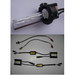 D2Y (D2S) Complete HID kit with ballasts and with Amp Connectors