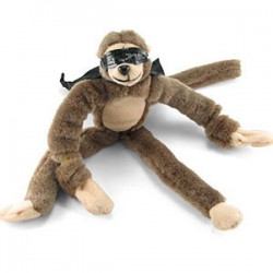 Screaming Slingshot Flying Monkey with cape