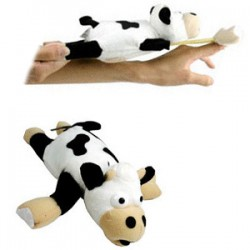 Screaming Slingshot Flying Cow MOO!