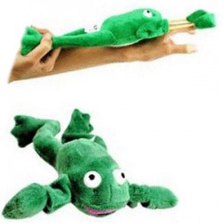Screaming Slingshot Flying Frog Ribbit!
