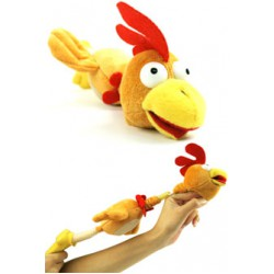 Screaming Slingshot Flying Chicken (Rooster) CLUCK! --OUT OF STOCK TILL MID JANUARY--